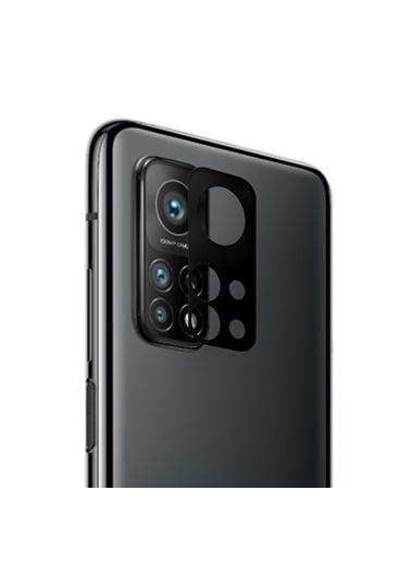 Microsonic Microsonic Xiaomi Mi 10T Pro V2 Kamera Lens Koruma Camı Siyah